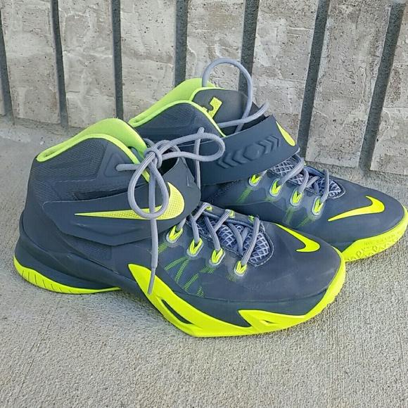 Nike LeBron soldier Viii 8 green men 685dcc7084